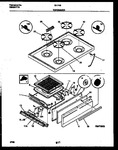 Diagram for 05 - Cooktop And Broiler Drawer Parts
