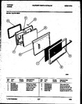 Diagram for 06 - Lower Oven Door Par