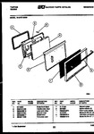 Diagram for 06 - Lower Oven Door Parts