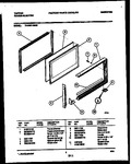 Diagram for 05 - Upper Oven Door Parts
