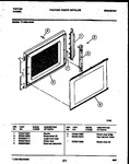 Diagram for 08 - Upper Oven Door P