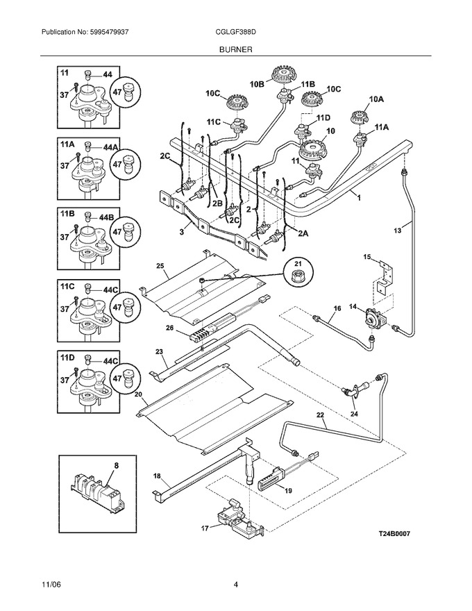 Diagram for CGLGF388DSG