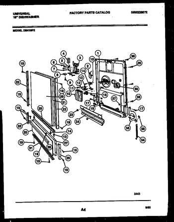 Diagram for DB418PW2