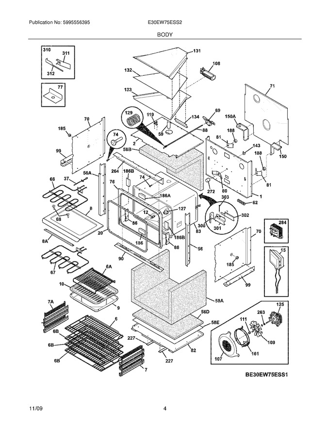 Diagram for E30EW75ESS2
