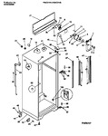 Diagram for 03 - Cabinet W/ Fan Assembly