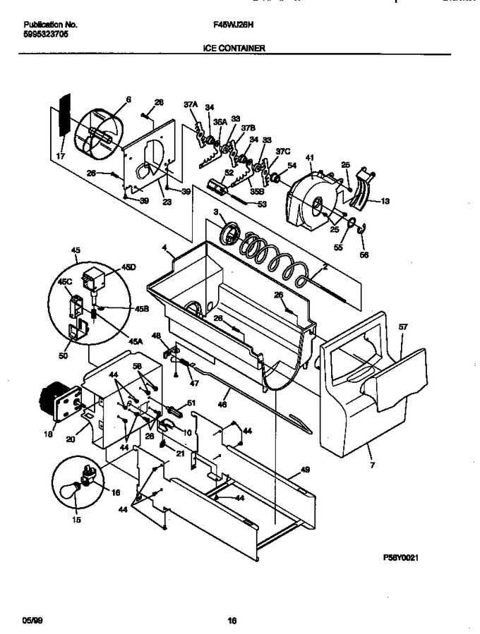 Diagram for F45WJ26HW1