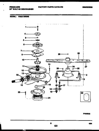 Diagram for FDB212RBM0