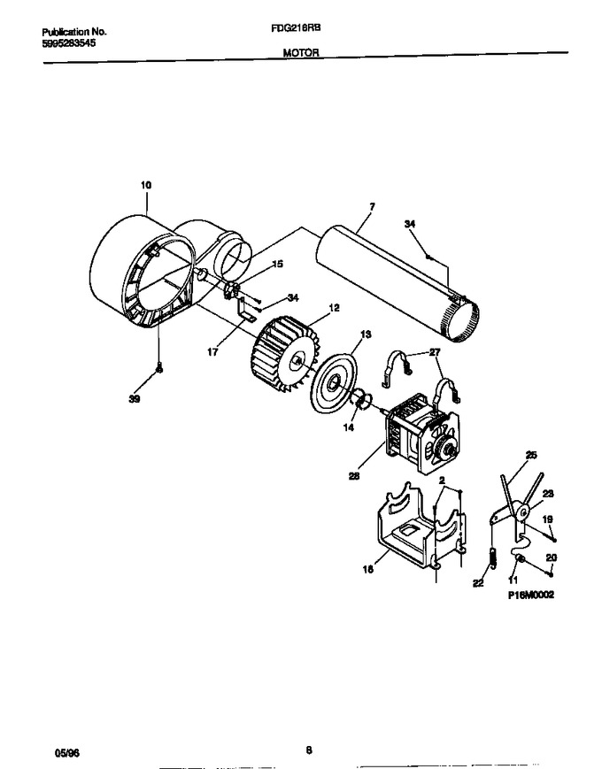 Diagram for FDG216RBS2