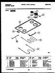 Diagram for 03 - Cooktop And Broiler Parts