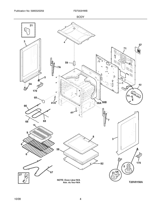 Diagram for FEF303HWB