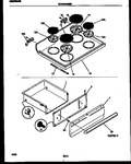 Diagram for 04 - Cooktop And Drawer Parts