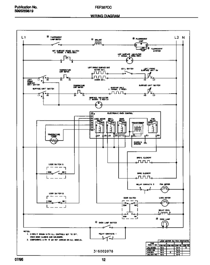Diagram for FEF387CCTB