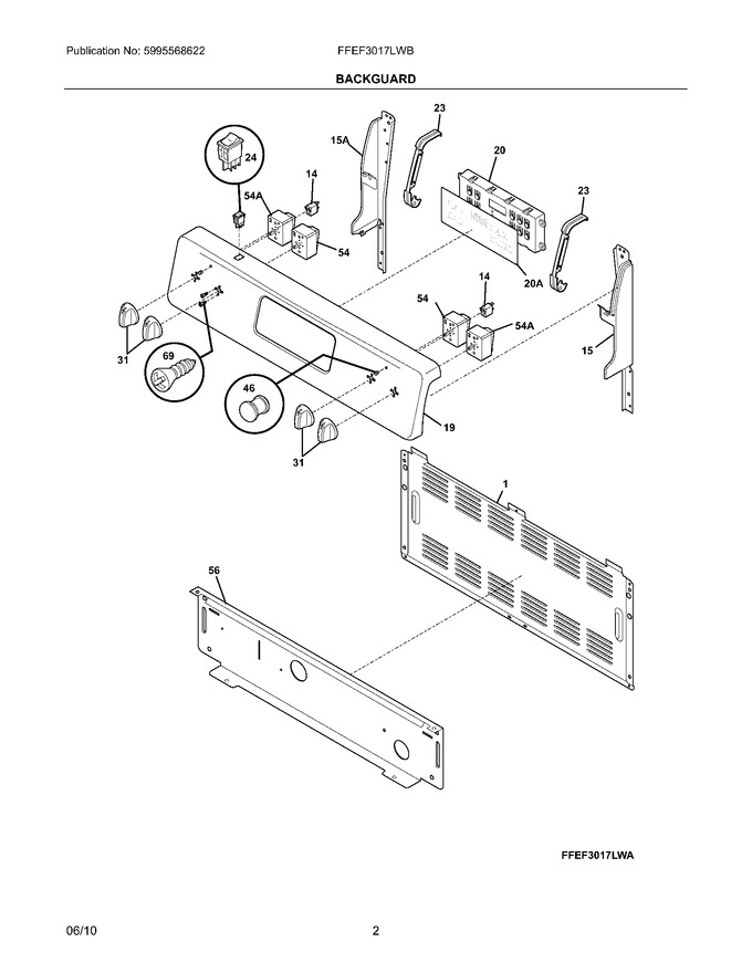 Diagram for FFEF3017LWB