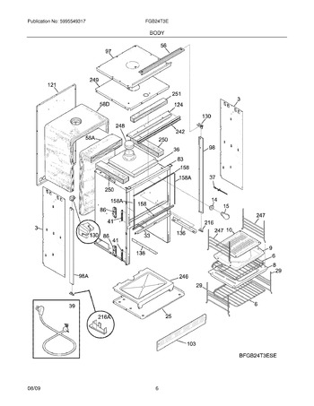 Diagram for FGB24T3EBE