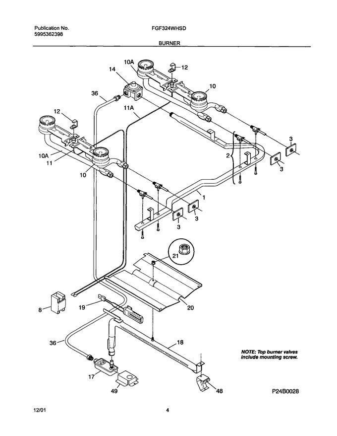 Diagram for FGF324WHSD