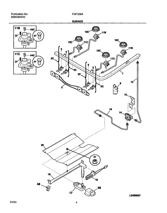 Diagram for FGF326AUD