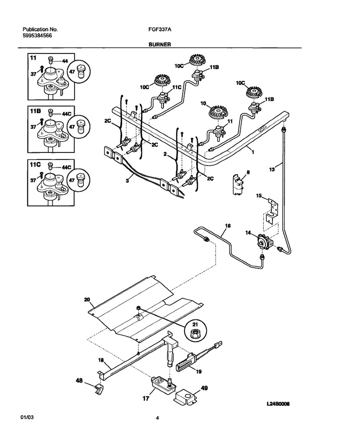 Diagram for FGF337AUD