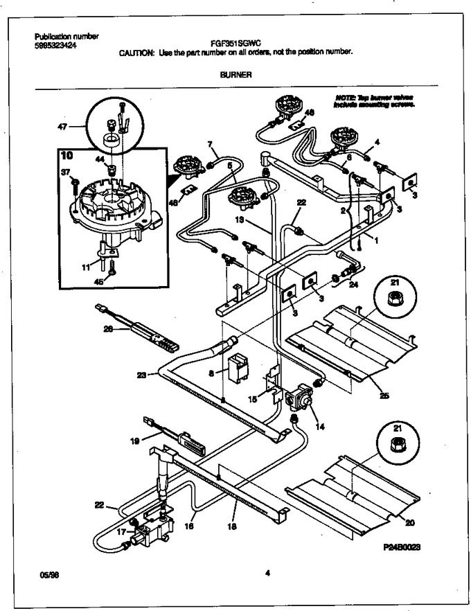 Diagram for FGF351SGWC