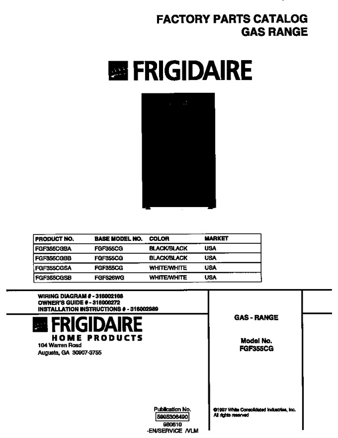 Diagram for FGF355CGBB