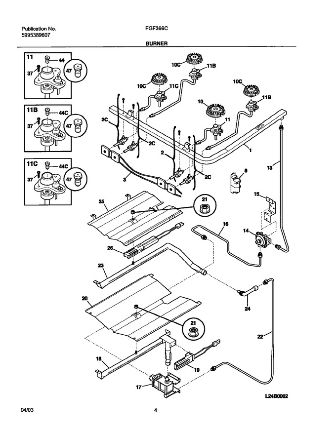 Diagram for FGF366CQB