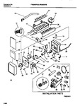 Diagram for 11 - Ice Maker Components & Installation