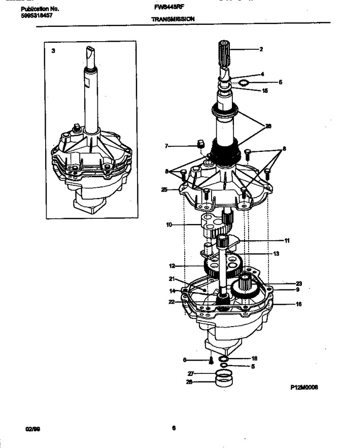 Diagram for FWS445RFT2