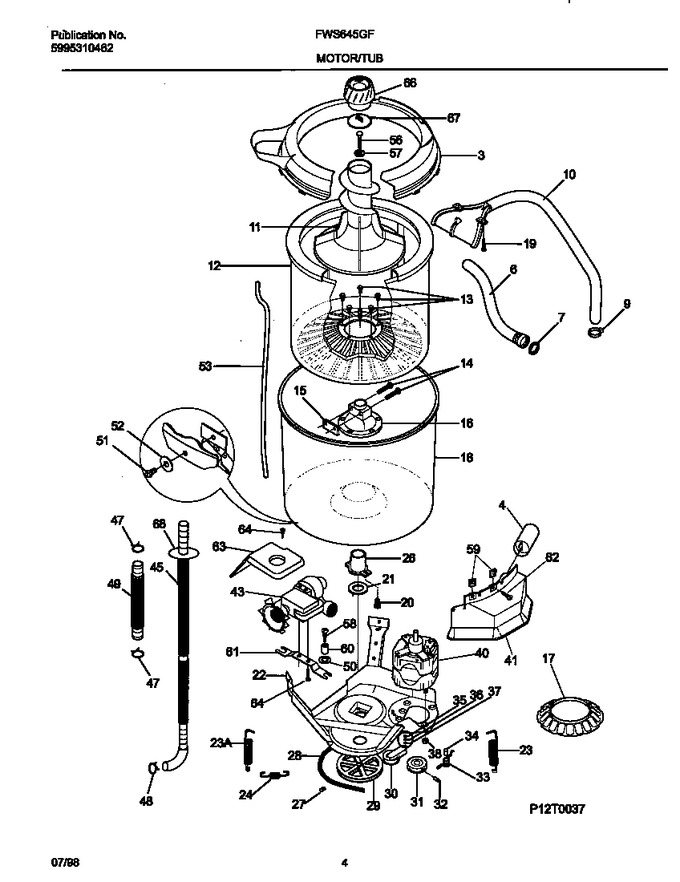 Diagram for FWS645GFS1