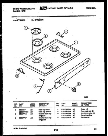 Diagram for GF750ND2