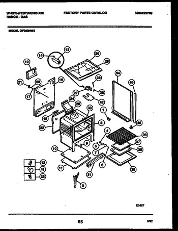Diagram for GF950NW3