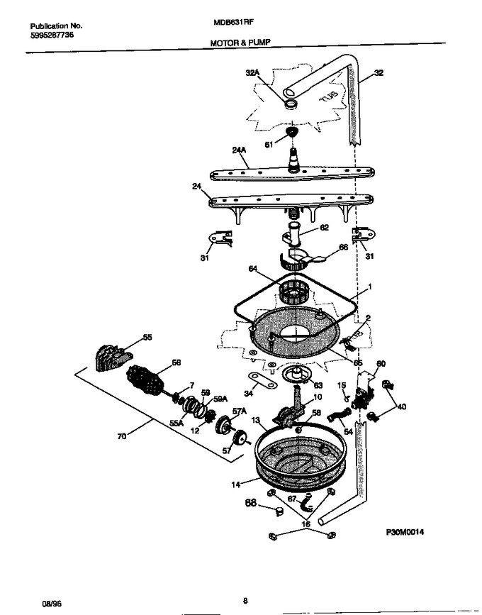 Diagram for MDB631RFR0