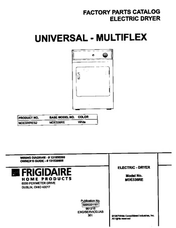 Diagram for MDE336RES2