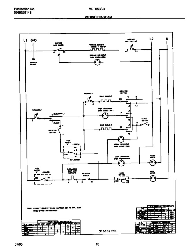 Diagram for MEF350SBDB