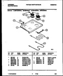 Diagram for 05 - Cooktop And Broiler Parts