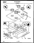 Diagram for 06 - Cooktop And Broiler Drawer Parts