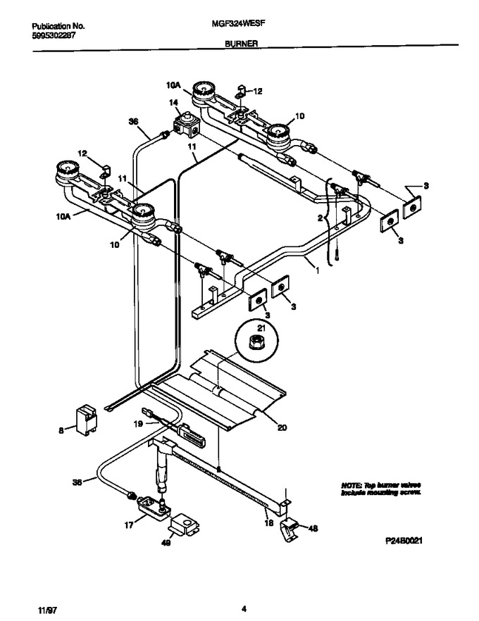 Diagram for MGF324WESF