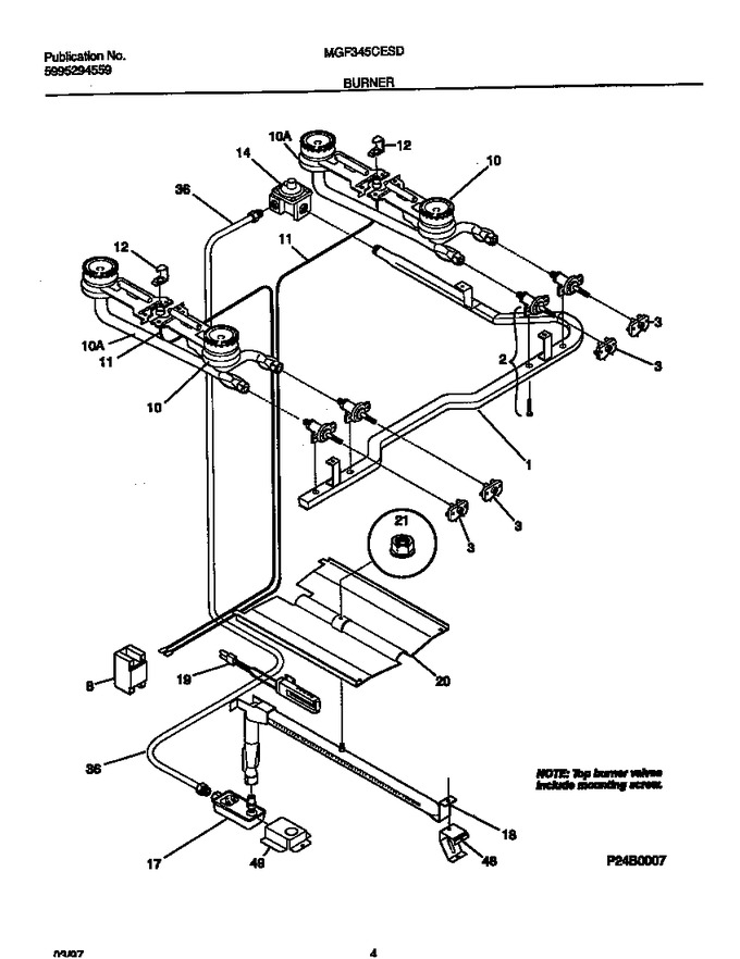 Diagram for MGF345CESD
