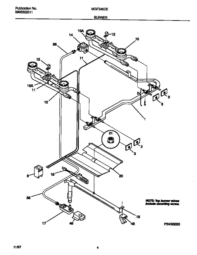 Diagram for MGF345CESE
