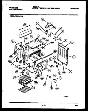 Diagram for RE34BAW5