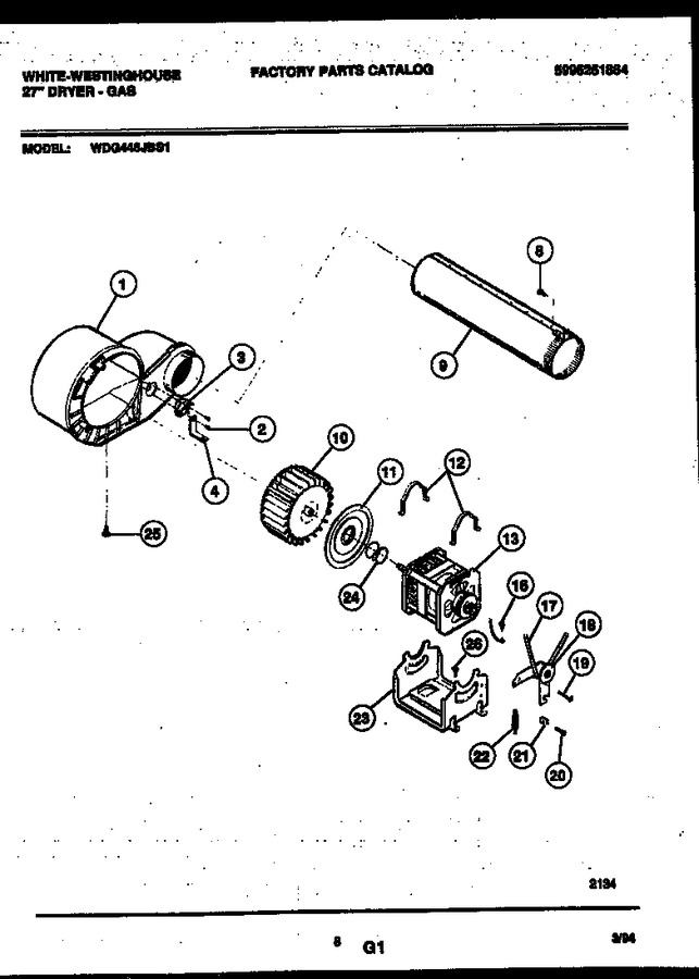 Diagram for WDG446JBS1