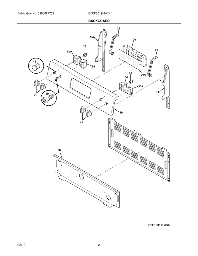 Diagram for CFEF3019MWD