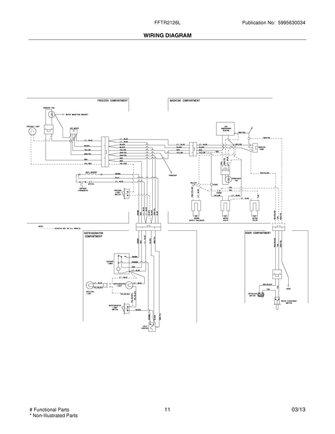 Diagram for FFTR2126LWD