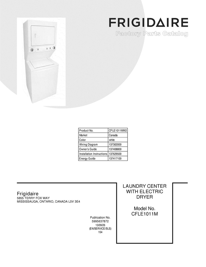 Diagram for CFLE1011MW2