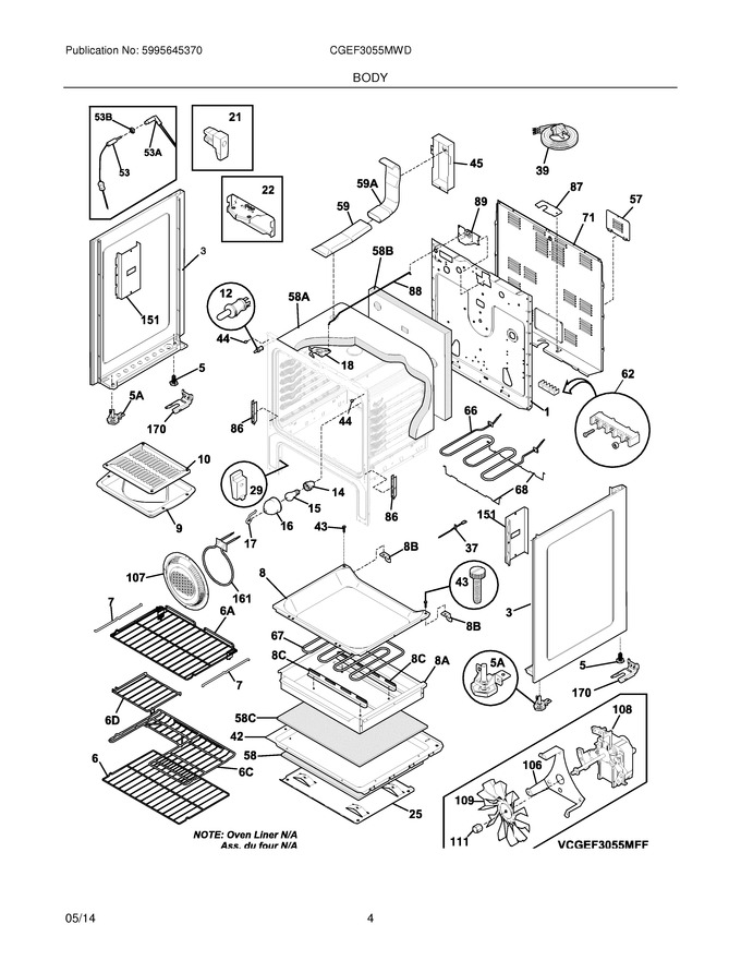 Diagram for CGEF3055MWD