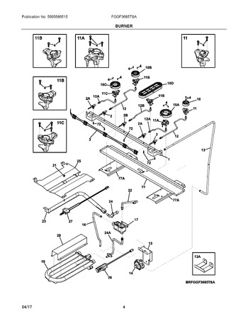 Diagram for FGGF3685TSA