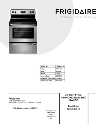 Diagram for CFEF3051TSB