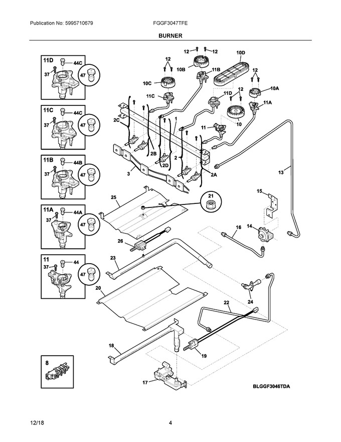 Diagram for FGGF3047TFE