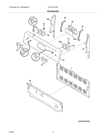Diagram for CFEF3007LBE