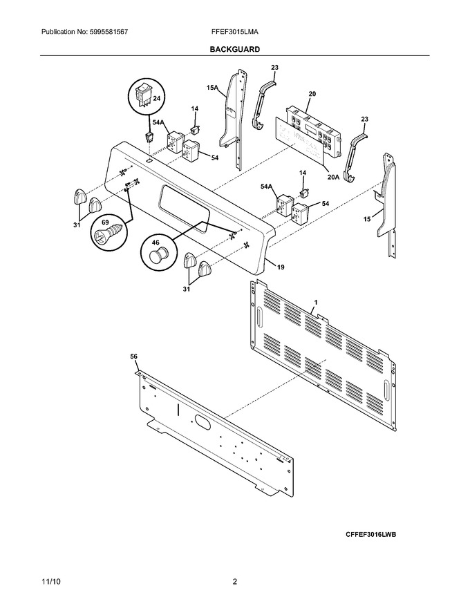 Diagram for FFEF3015LMA