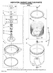 Diagram for 03 - Agitator, Basket And Tub Parts