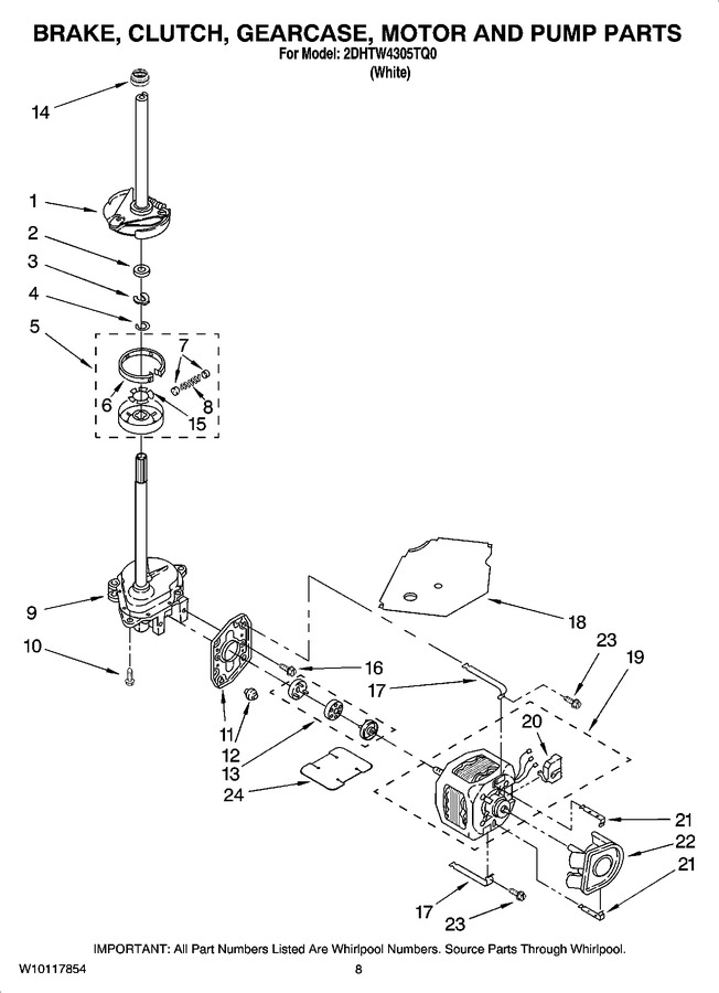 Diagram for 2DHTW4305TQ0